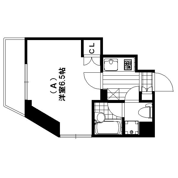 東京家具付き スカイコート四谷